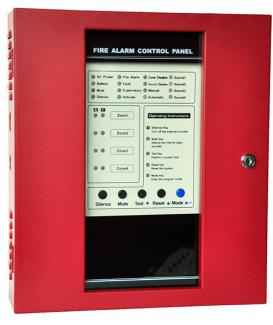 BR-1008  200 Series Conventional Fire Alarm Control Panel - 副本